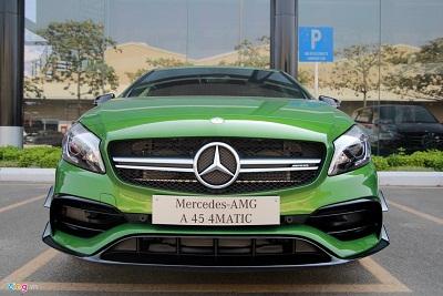 Mercedes A-Class - xe thể thao cho người trẻ tại Việt Nam