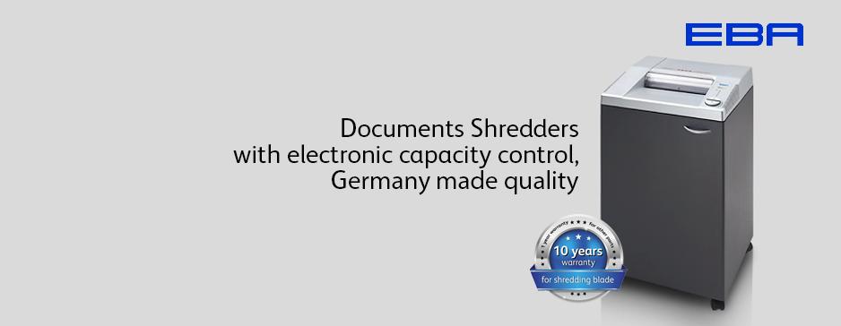 Máy hủy giấy EBA-2127C - Paper shredder EBA-2127C
