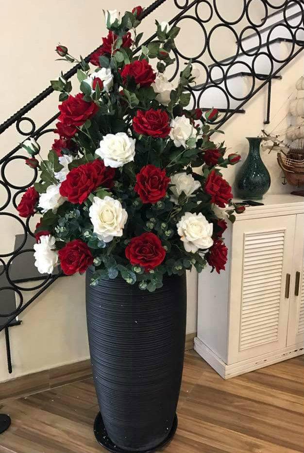 Hoa hồng giả tại Hoa Lụa Phương Thảo