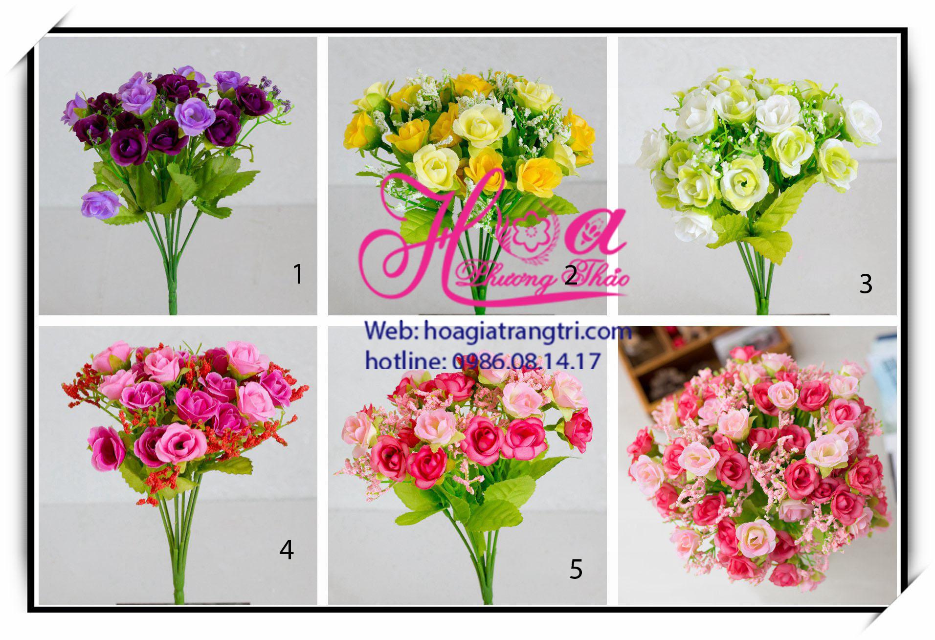 Hoa giả trang trí đẹp nhất Hà Thành
