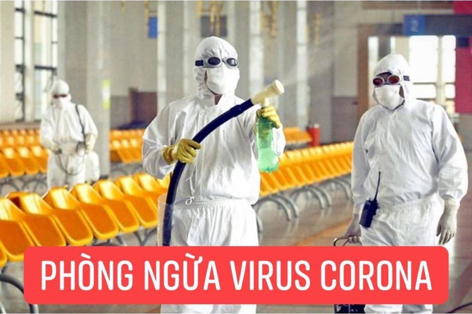 Diệt Khuẩn, Khử Trùng phòng chống Virus Corona