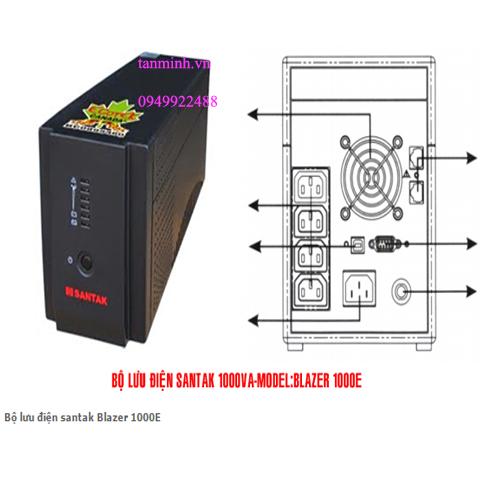 Bộ lưu điện santak Blazer 1000E
