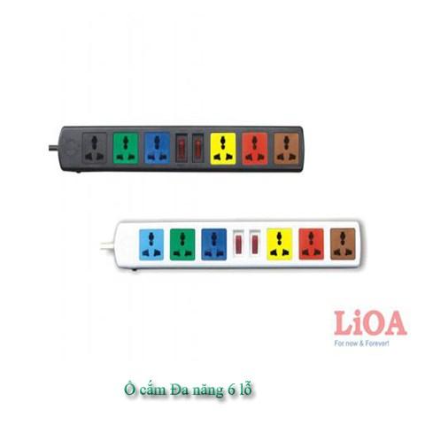 Ổ cắm Lioa 6D32N