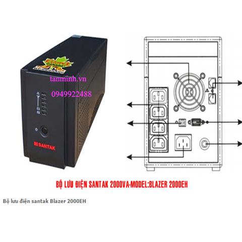 Bộ lưu điện santak Blazer 2000EH