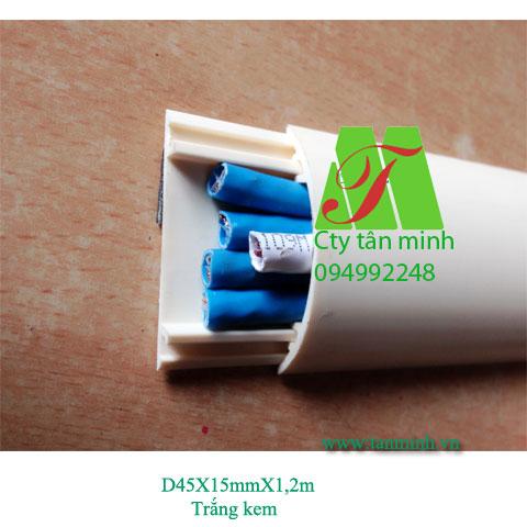 Ghen bán nguyệt D45(45x15mm)
