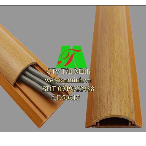 Nẹp sàn vân gỗ D50