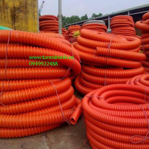 Ống Gân Xoắn HDPE 195/150
