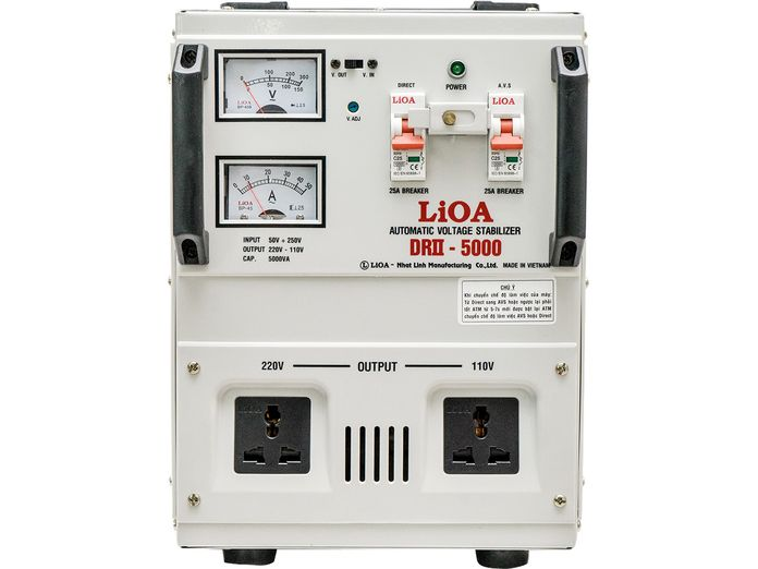 Ổn áp LiOA 1 pha 5kVA DRII-5000II