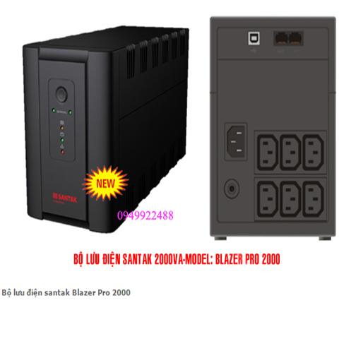Bộ lưu điện santak Blazer Pro 2000