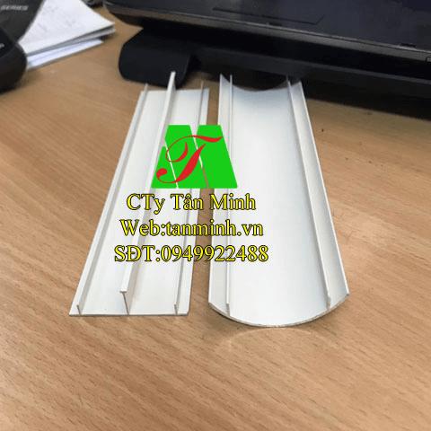 Ghen bán nguyệt nhôm D55x15