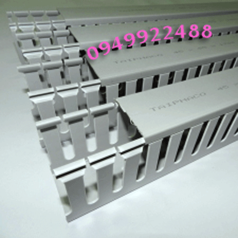 máng nhựa 25x25