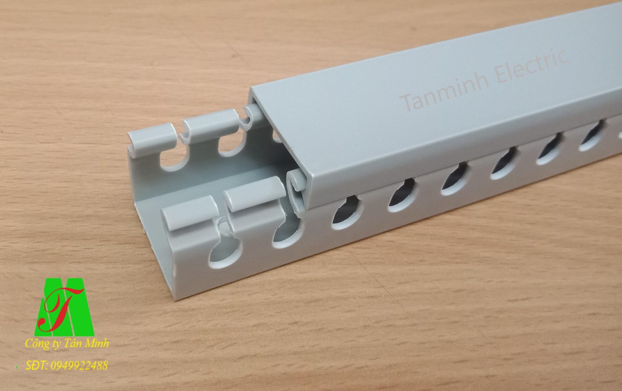Máng nhựa chia dây Tanminh Electric 25x25