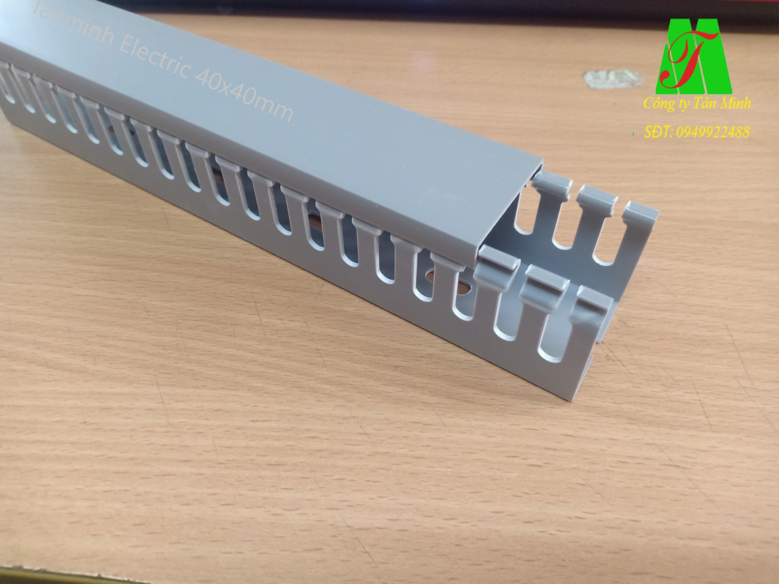 Máng nhựa Tanminh Electric 40x40mm