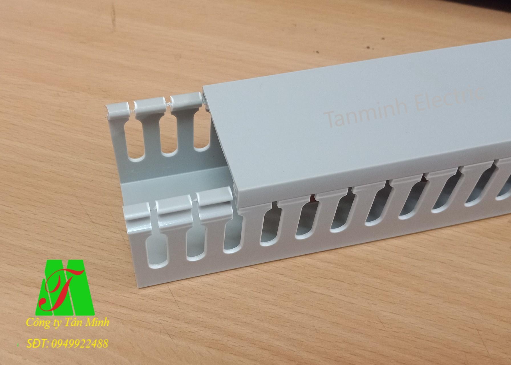 Máng nhựa răng lược Tanminh Electric 45x45
