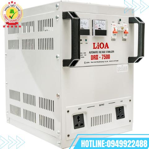 Ổn áp LiOA 1 pha 7,5kVA DRI-7500II