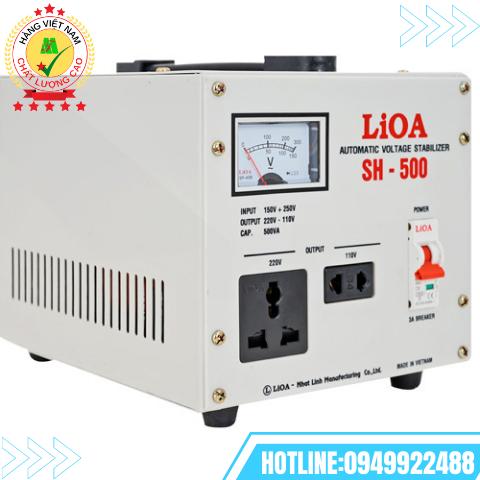 ỔN ÁP LIOA 1 PHA 0,5kVA SH-500II