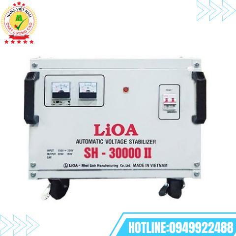 ỔN ÁP LIOA 1 PHA 30kVA SH-30000II