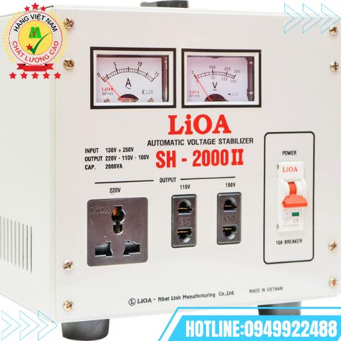 ỔN ÁP LIOA 1 PHA 2kVA SH-2000II