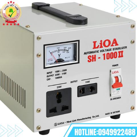 ỔN ÁP LIOA 1 PHA 1kVA SH-1000II