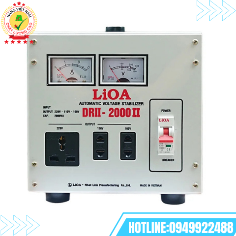 Ổn áp LiOA 1 pha 2kVA DRII-2000II