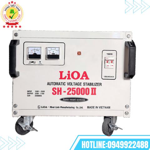 ỔN ÁP LIOA 1 PHA 25kVA SH-25000II