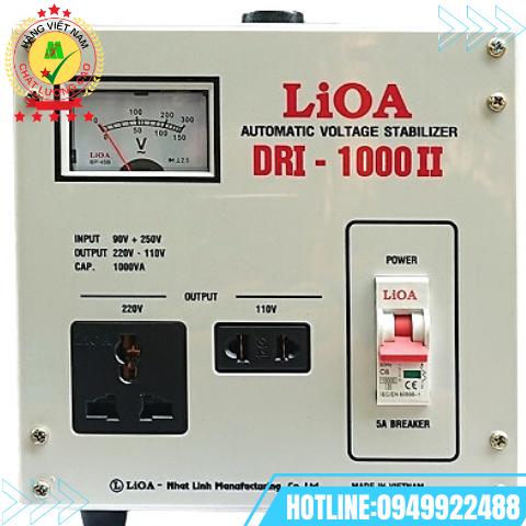 ỔN ÁP 1 PHA  1kVA DRI -1000 II