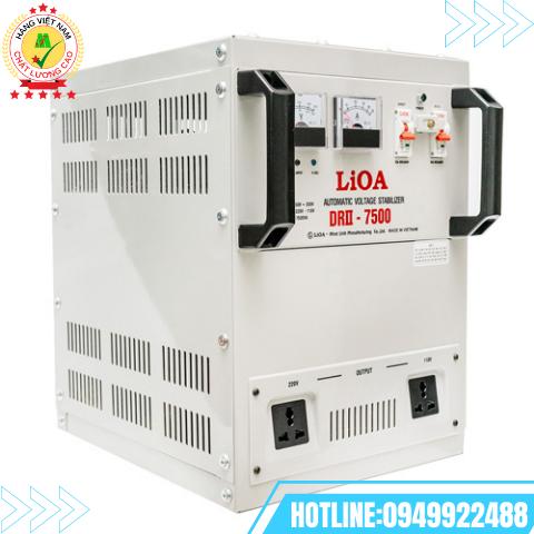 ỔN ÁP LIOA 1PHA 7,5kVA SH-7500II