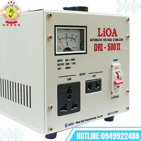 Ổn áp 1 pha 0,5kVA LiOA DRI- 500 II