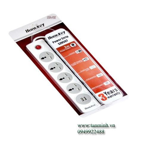 Ổ cắm điện đa năng Huntkey SZN-507-2.1A (3M)