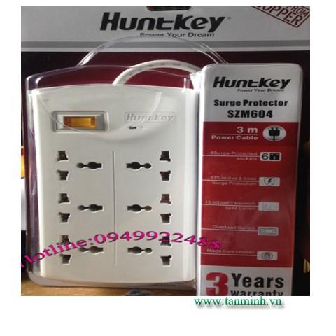 Ổ Cắm Huntkey _SZM-604 dây dài 3m