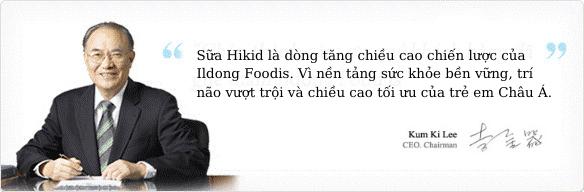 IldongFoodis - Vì tương lai