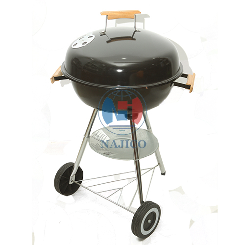 Grill with wheel - 5