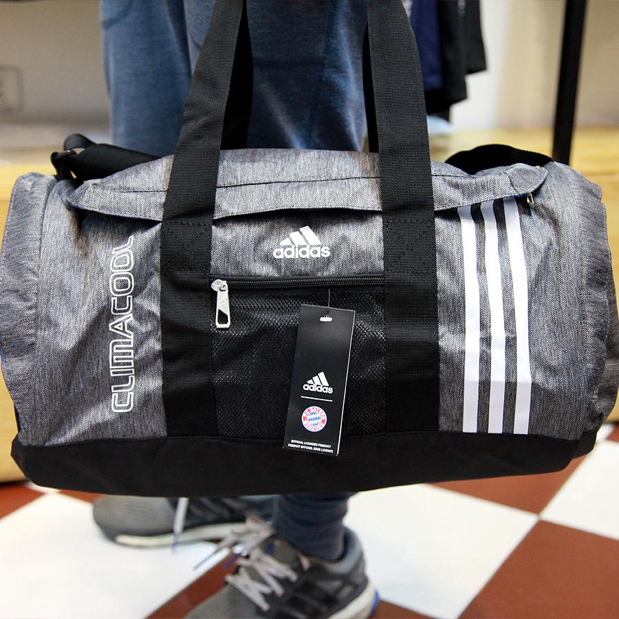 Túi Adidas Climacool Ghi Vải Xước