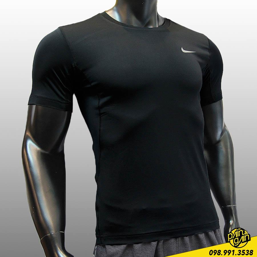 Áo Thun Thể Thao Nike Pro Chữ Lưng