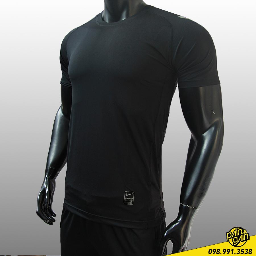 Áo Thun Thể Thao Nike Hoạ Tiết Lưng