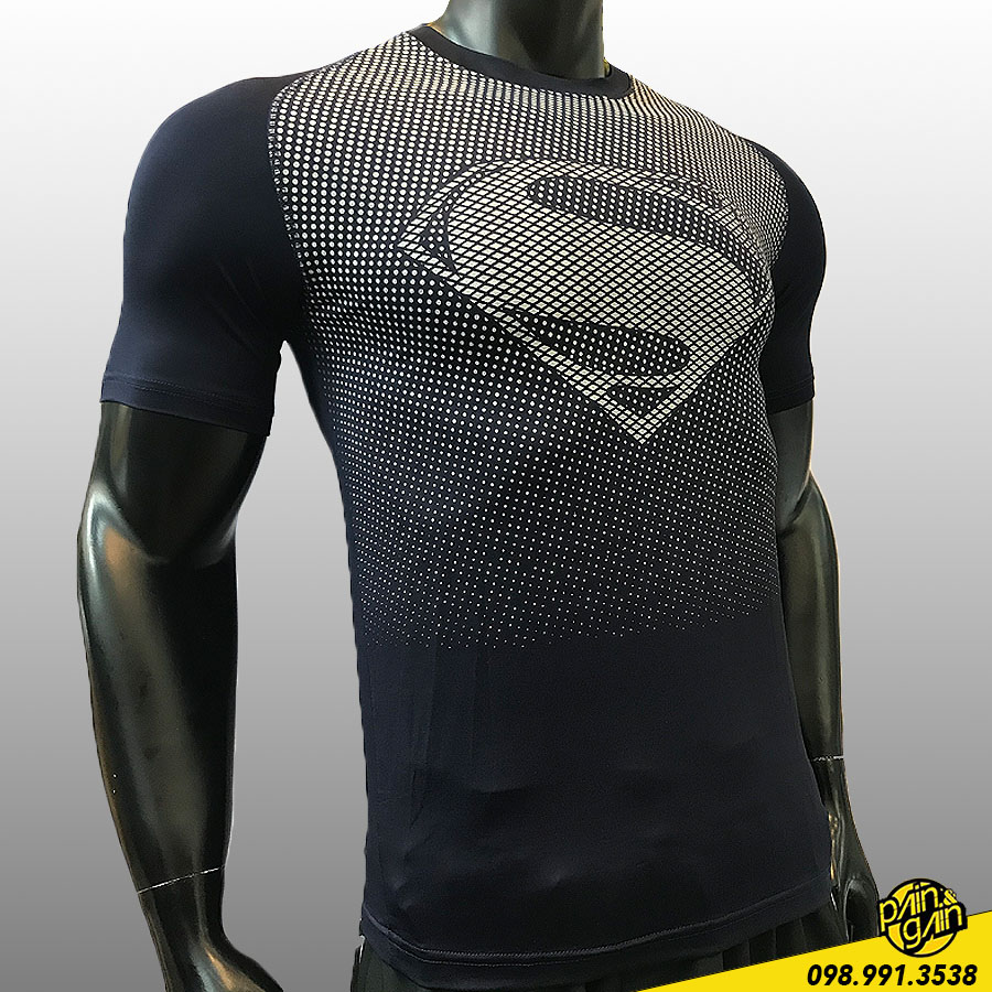 Áo Thun Tập Gym Superman