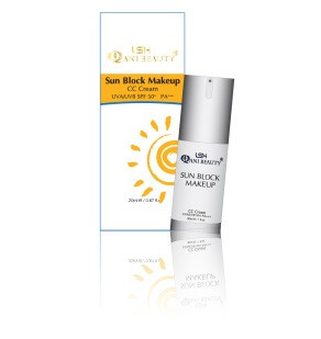 SUN BLOCK MAKE UP CC CREAM SPF 50PA +++