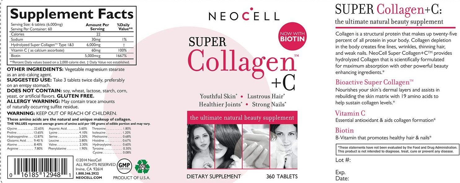 neocell super collagen +C fact