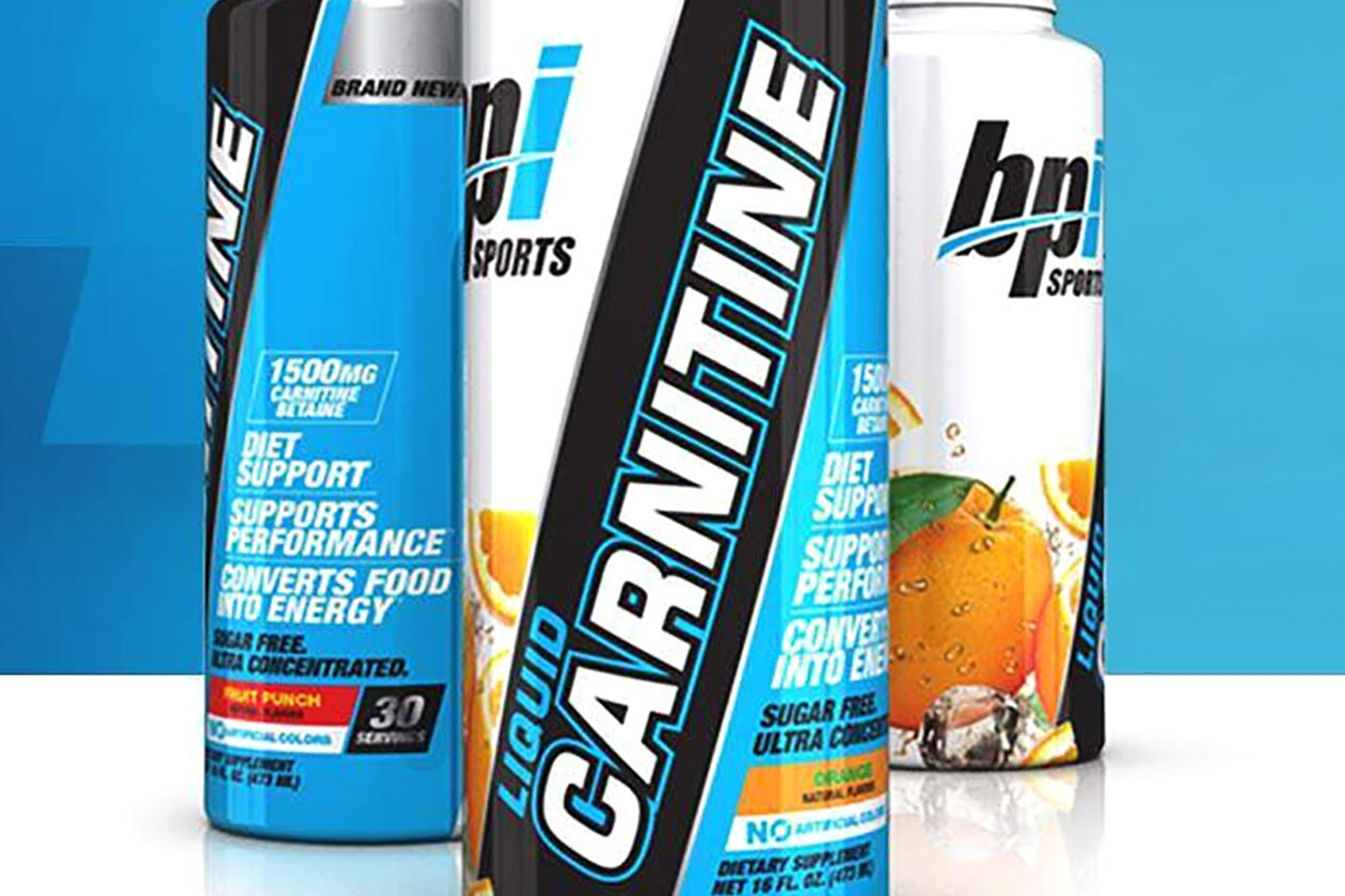 BPI liquid carnitine 1500mg 1