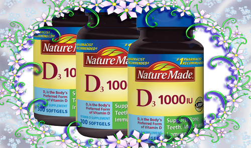 vitamin d3 25 mcg 1000 iu nature made 1