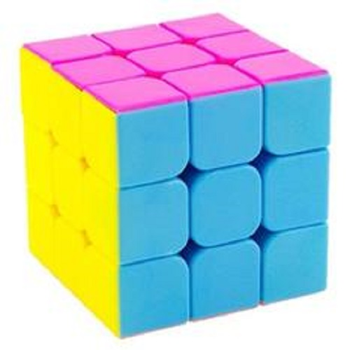 Rubik 3x3x3 Cyclone-Boys Stickerless