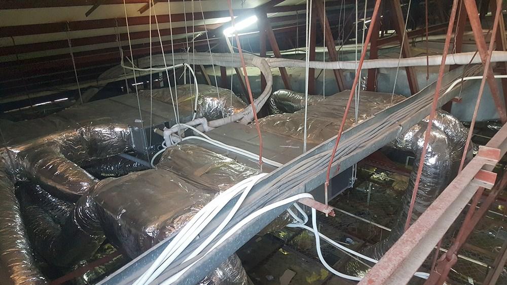 Đường ống đồng cho điều hòa trung tâm