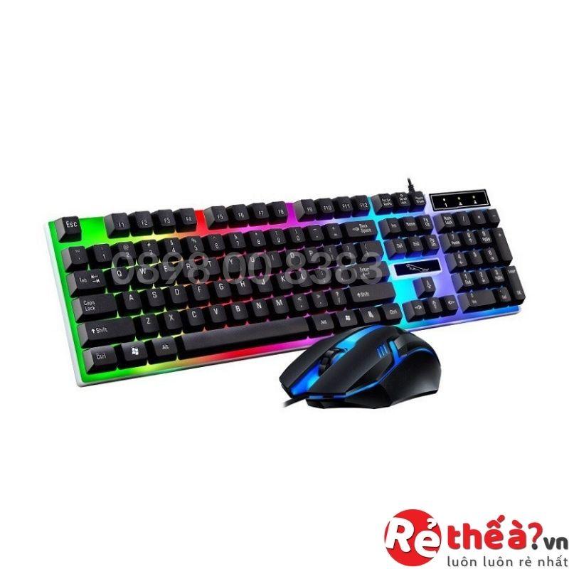 Bàn phím kèm chuột máy tính giả cơ Con Báo G21 Pro 2021