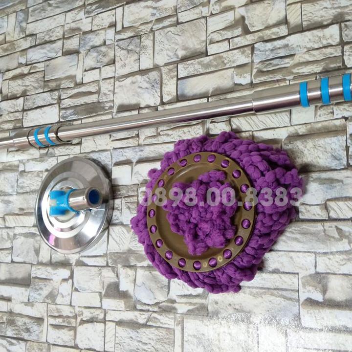 Bộ cán chổi lau nhà Thái Lan cây Inox