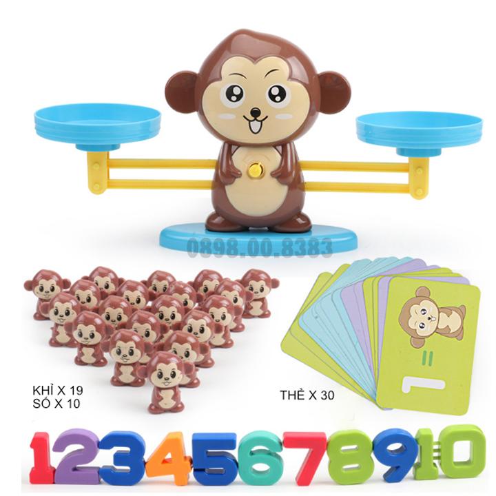 Bộ đồ chơi khỉ cân thăng bằng