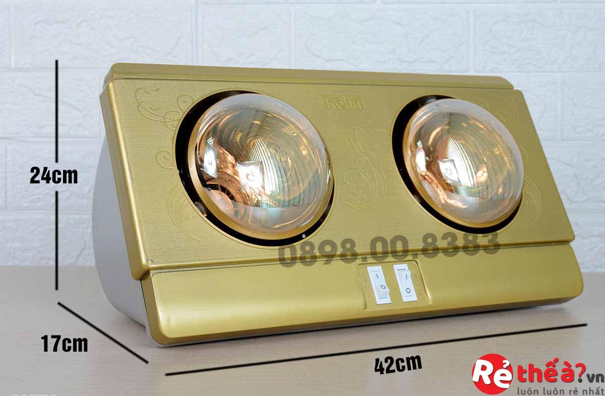 Đèn sưởi hồng ngoại KOHN PLUS Model KP02G