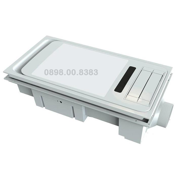 Đèn sưởi phòng tắm âm trần cao cấp BRAUN-KOHN-LUXURY-PT04G-2900W
