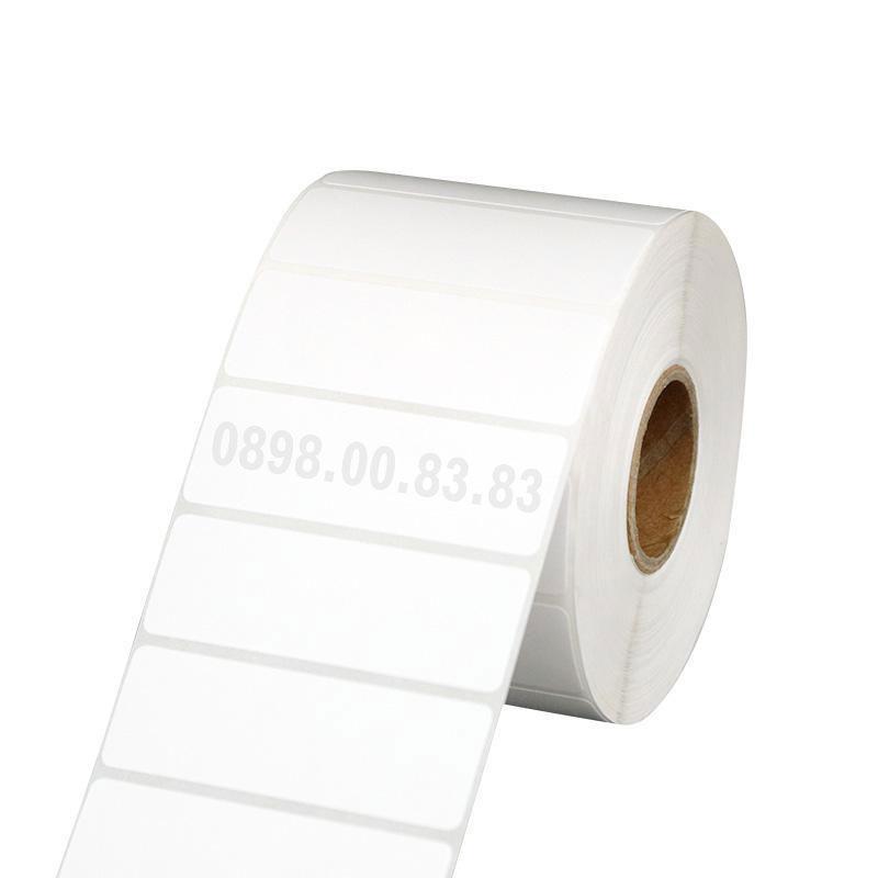 Giấy in tem đơn FUJI khổ 50*30mm