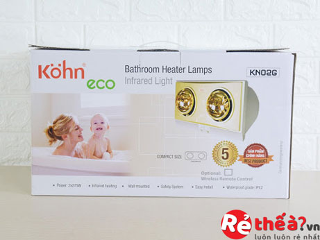 Đèn sưởi hồng ngoại KOHN ECO Model KN02G