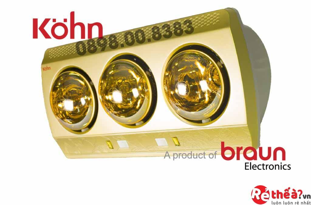Đèn sưởi hồng ngoại Kohn ECO Model KN03G